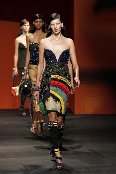 Неделя Моды в Милане: коллекция Prada сезона весна-лето 2014