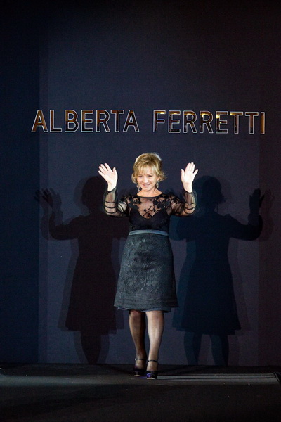 Показ коллекции Alberta Ferretti на ELLE Fashion Days