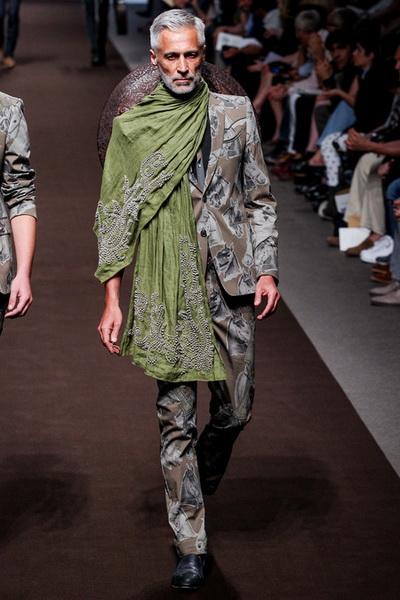 Неделя Моды в Милане: мужская коллекция Etro весна-лето 2014