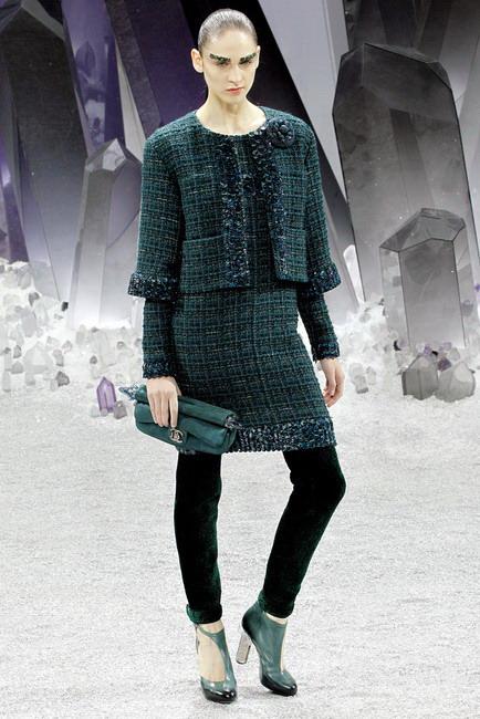 Chanel: коллекция осень-зима 2012-2013