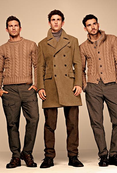 Мужская коллекция Dolce & Gabbana осень-зима 2013