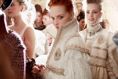 Показ коллекции Chanel Pre-Fall 2013 Париж-Эдинбург