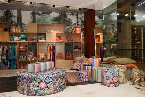 Открытие бутика Missoni Home в торговом центре Dream House