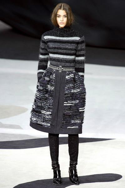 Неделя моды в Париже. Коллекция Chanel осень-зима 2013/2014