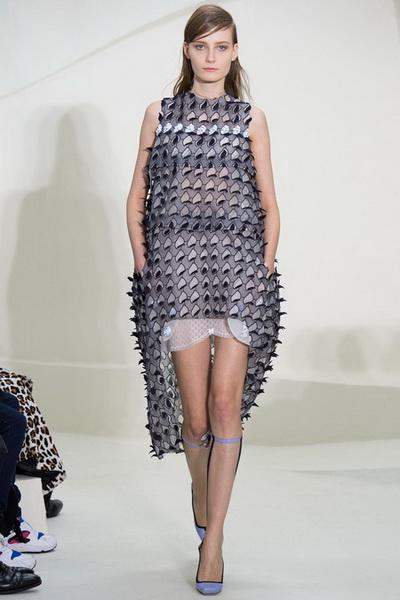 Неделя Высокой Моды в Париже: показ Christian Dior сезона весна-лето 2014