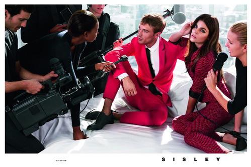 Рекламная кампания Sisley сезона весна-лето 2014