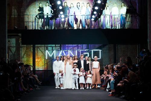Показ коллекции MANGO весна-лето 2014
