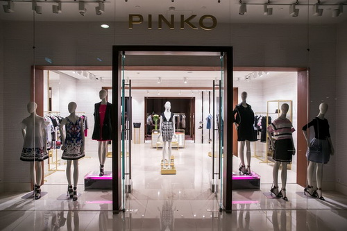 Открытия флагманского бутика PINKO в Галереях «Времена года»