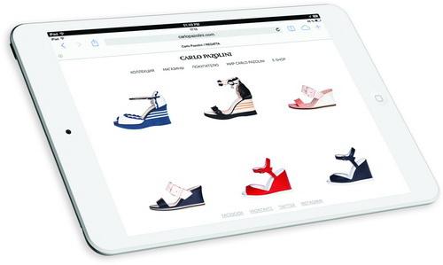 Открытие интернет-магазина www.CarloPazolini.com