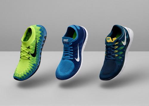 Новая линейка беговых кроссовок Nike Free 2014