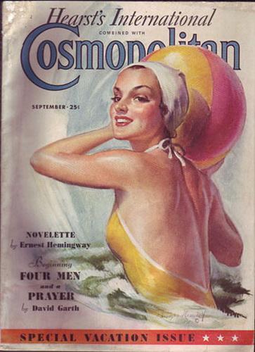 Первые журналы о моде