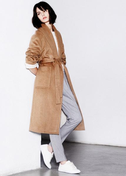 Дизайнеры Mango создали женскую коллекцию в стиле Tomboy