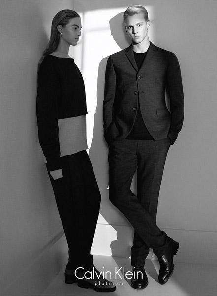 Новая линия Calvin Klein Platinum