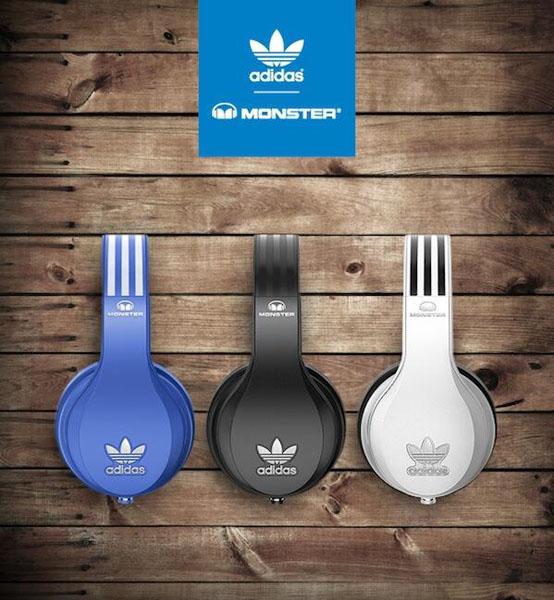 Adidas и Monster представляют премиальную коллекцию наушников