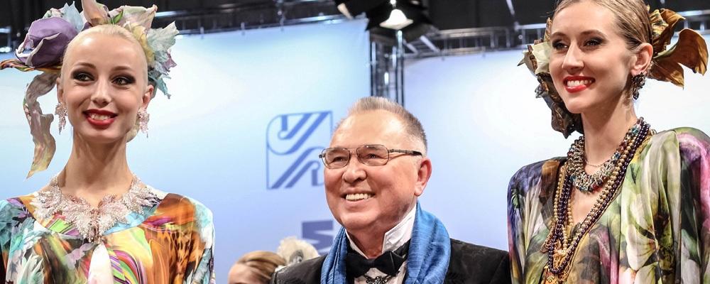 Вячеслав  Зайцев представил коллекцию на соискание премии «Мода России»