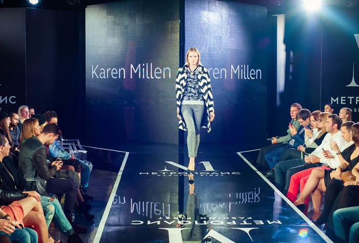 Показ осенних фэшн-луков на Метрополис Fashion Weeks
