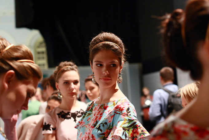 Показ Zarina на  Mercedes-Benz Fashion Week Russia