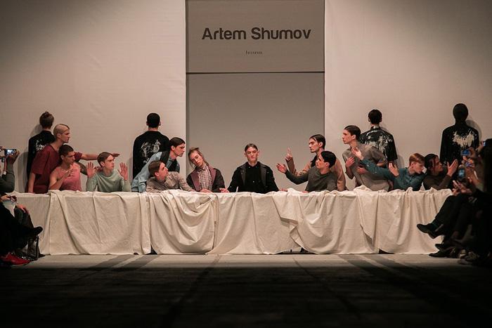 Показ коллекции Артема Шумова на Aurora Fashion Week