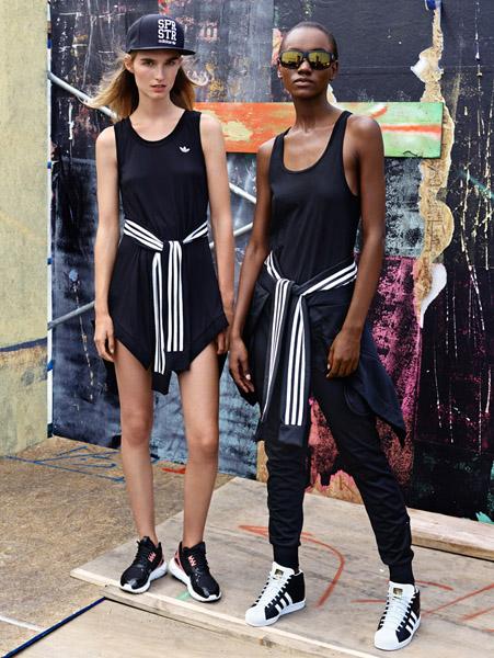 Adidas Originals представляет женскую линейку Couture