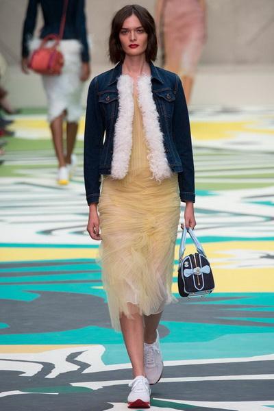 Неделя Моды в Лондоне: коллекция Burberry Prorsum весна-лето 2015