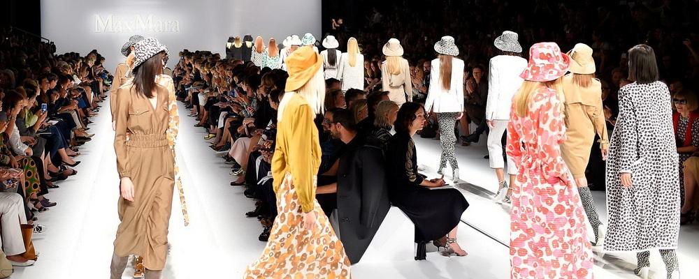 Показ Max Mara на Неделе Моды в Милане