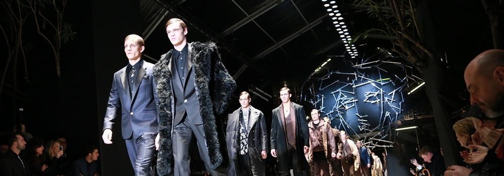Мужская коллекция Versace  осень 2015