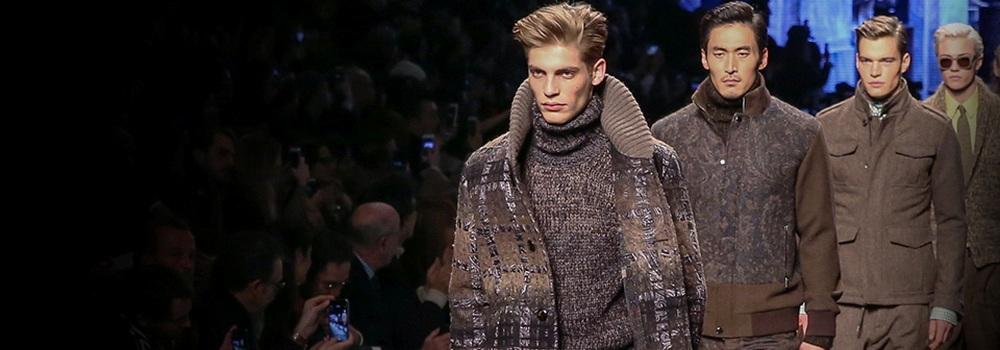 Мужская коллекция Etro на Неделе моды в Милане 2015