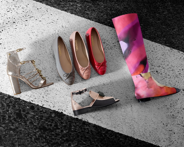 Обувь Chanel лето 2015