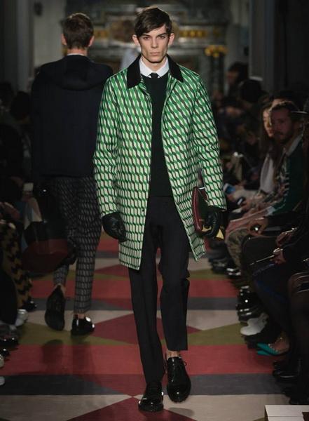 Valentino - мужская коллекция осень-зима 2015-2016