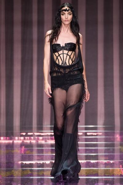 Atelier Versace - Показ коллекции осень 2015 Couture