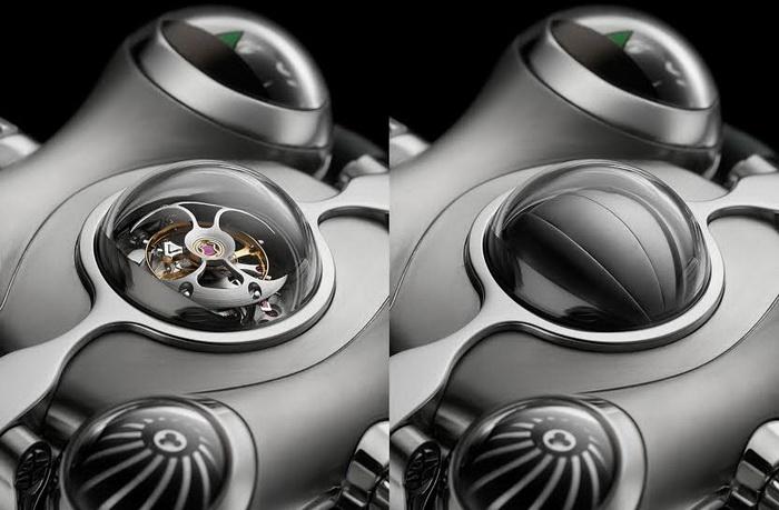 Уникальные часы MB&F Horological Machine 6 Space Pirate