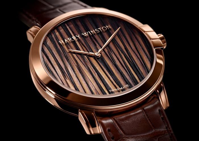 Новинка Harry Winston – мужские часы Midnight Feathers Automatic 42MM