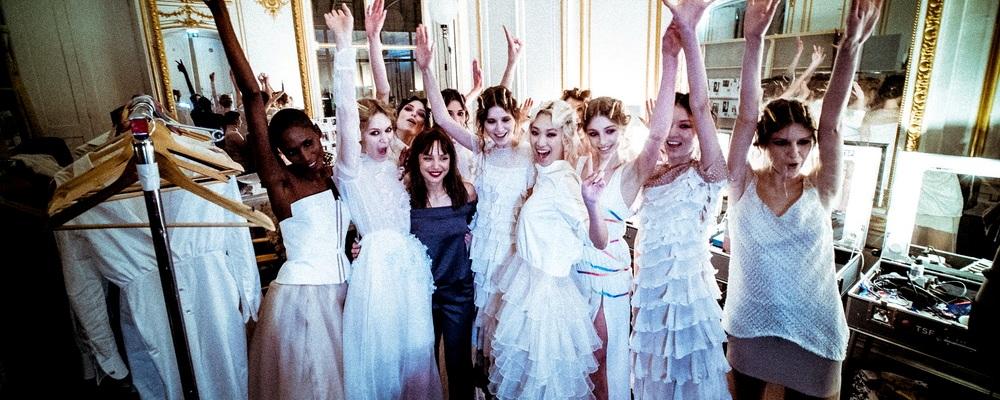 Светлана Кушнерова на Неделе Высокой Моды в Париже