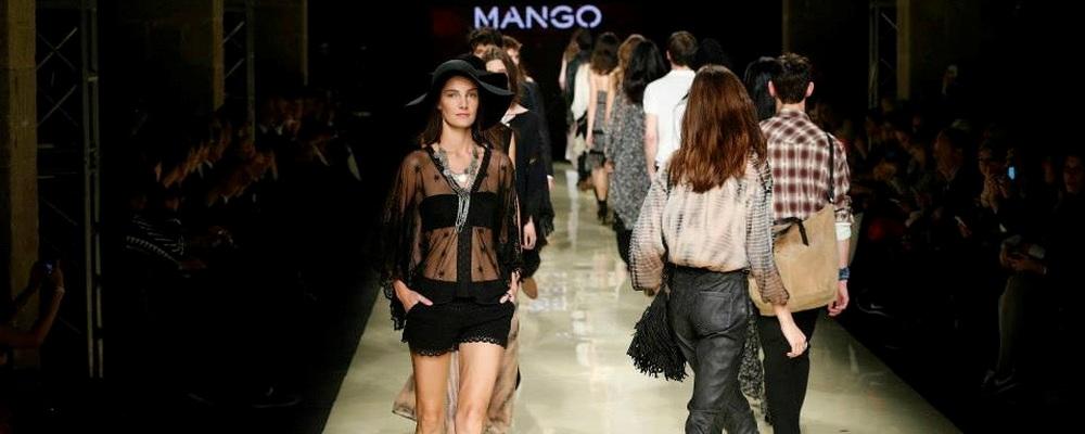 Показ MANGO в Барселоне