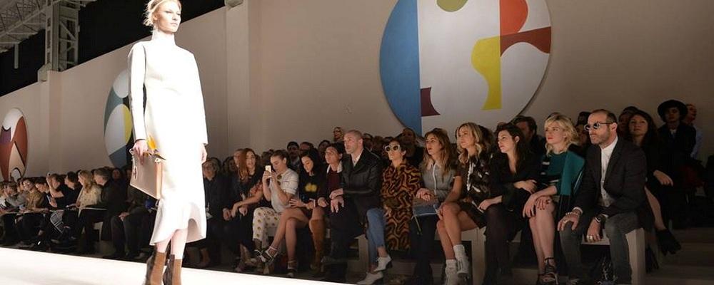 Женская коллекция Fendi  осень 2015