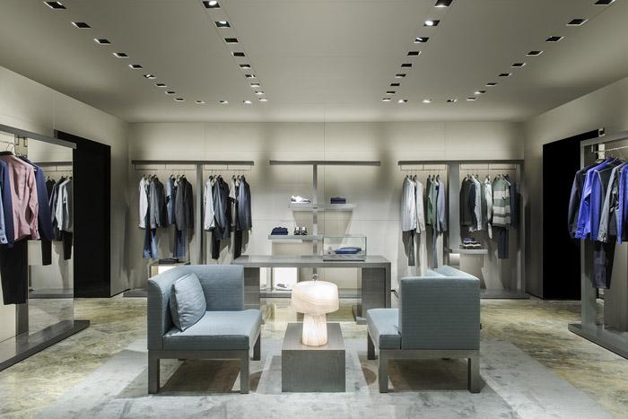 Новый бутик Giorgio Armani в Третьяковском проезде
