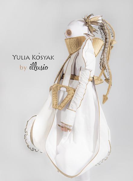 Показ Юлии Косяк на Неделе моды Mercedes-Benz Fashion Week Russia 2015