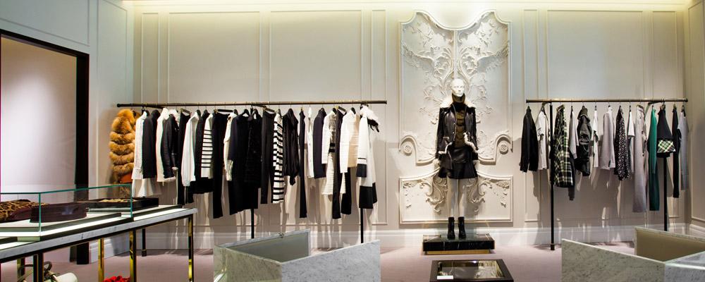 Новый бутик Alexander McQueen в Третьяковском проезде