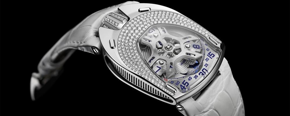 Urwerk представляет первые женские часы Urwerk UR-106 Lotus
