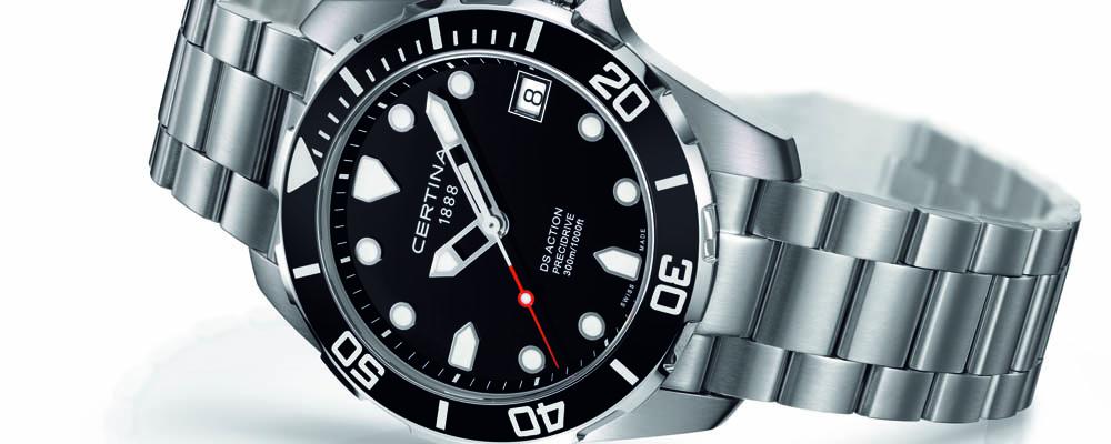 Новые спортивные часы Certina DS Action