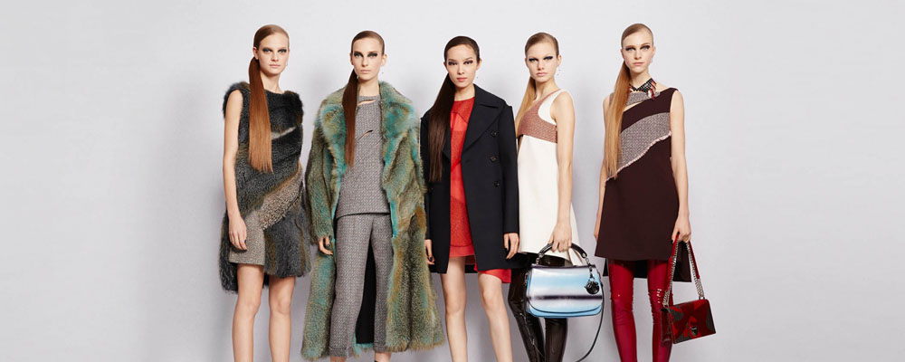 Женская коллекция Dior осень 2015