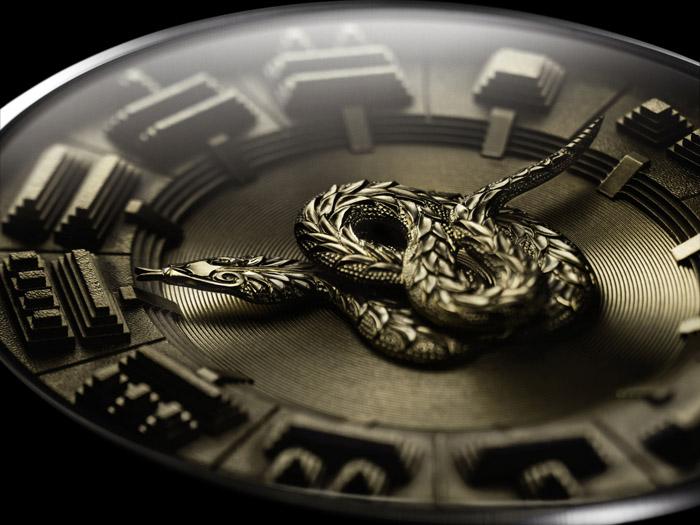 Новые часы De Bethune DB25 Quetzalcoalt, посвященные древней цивилизации ацтеков