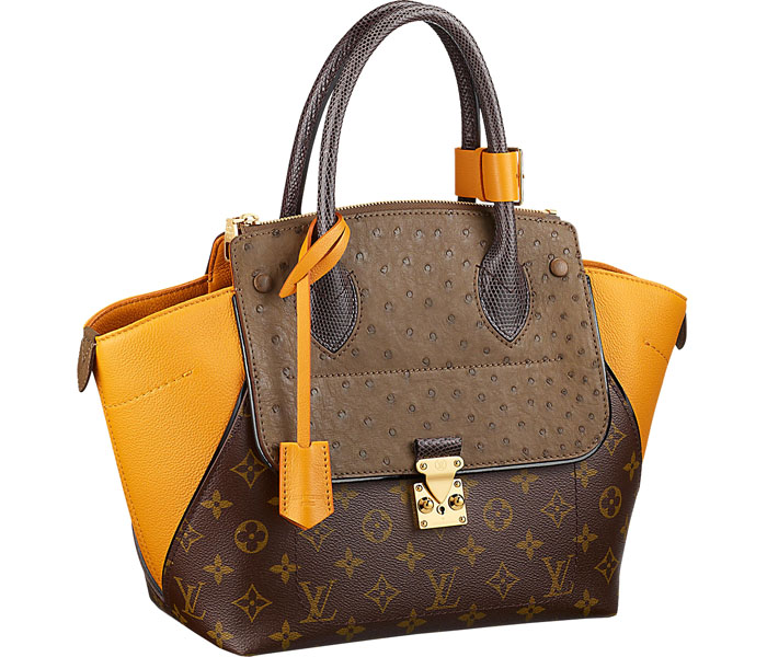 Сумка Louis Vuitton Majestueux Tote MM Ocre