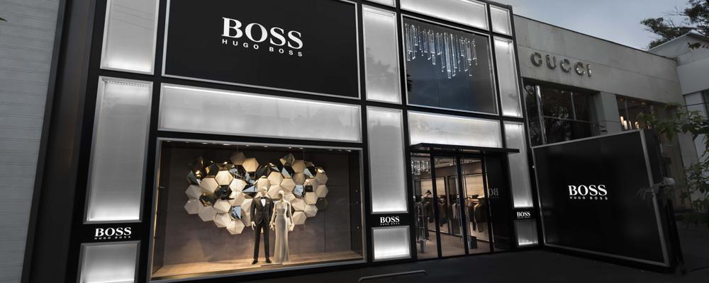 Открытие флагманского магазина Boss Masaryk в Мехико