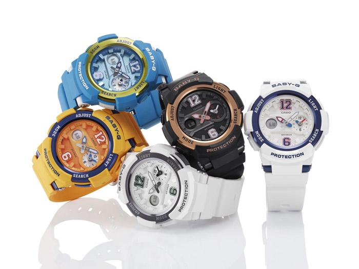 Новая модель часов Casio Baby-G BGA-210: персональная машина времени