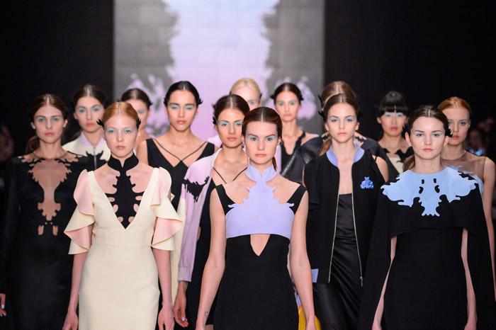 ��������� ����� Dasha Gauser � ������ Mercedes-Benz Fashion Week Russia 2015