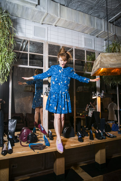 Презентация капсульной коллекции обуви Alena Akhmadullina for Econika