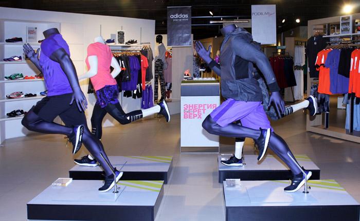 Открытие Adidas Pop-up Store в Podium market