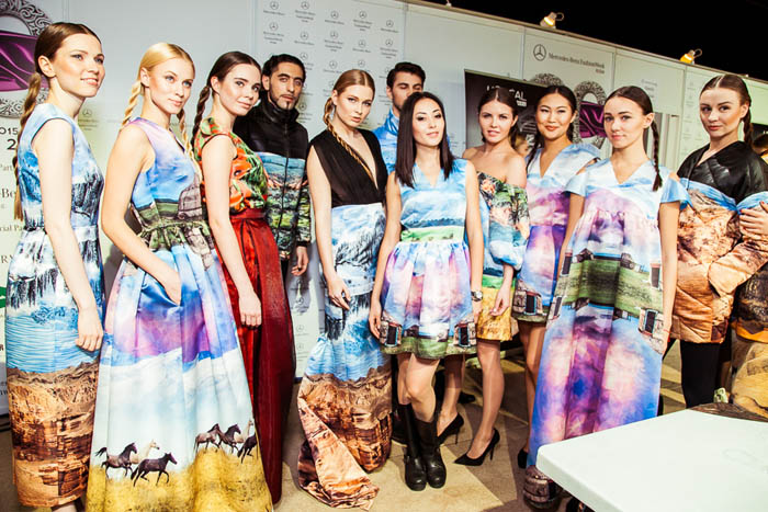 ����� ������ ������� �� Mercedes-Benz Fashion Week Russia 2015