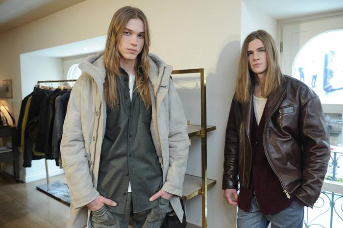 Trussardi: мужская коллекция сезона осень/зима 2015-16